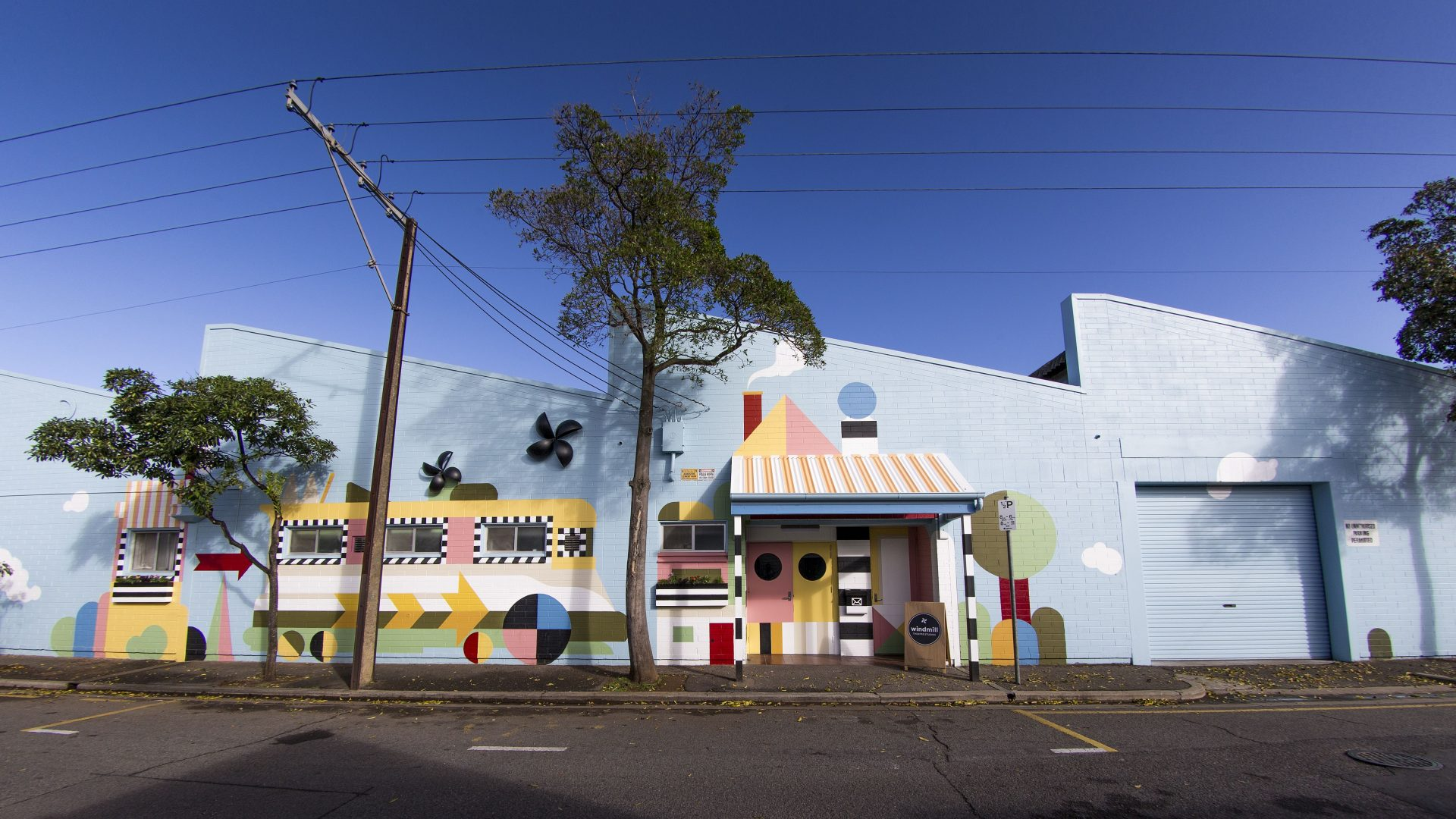 Art on the street | Windmill mural